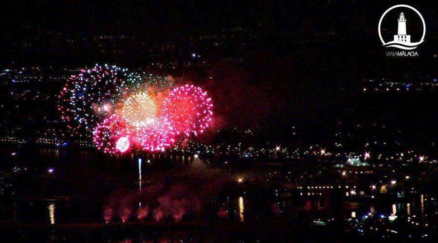 Donde ver los fuegos artificiales de la feria de malaga