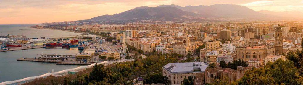 Vistas de Málaga capital