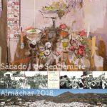 Cartel de la Fiesta del Ajoblanco de Almáchar